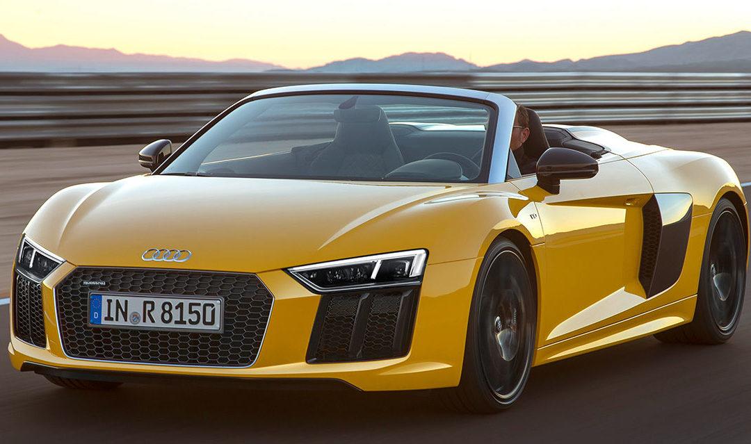 Audi R8 Spyder 2017 en vídeo