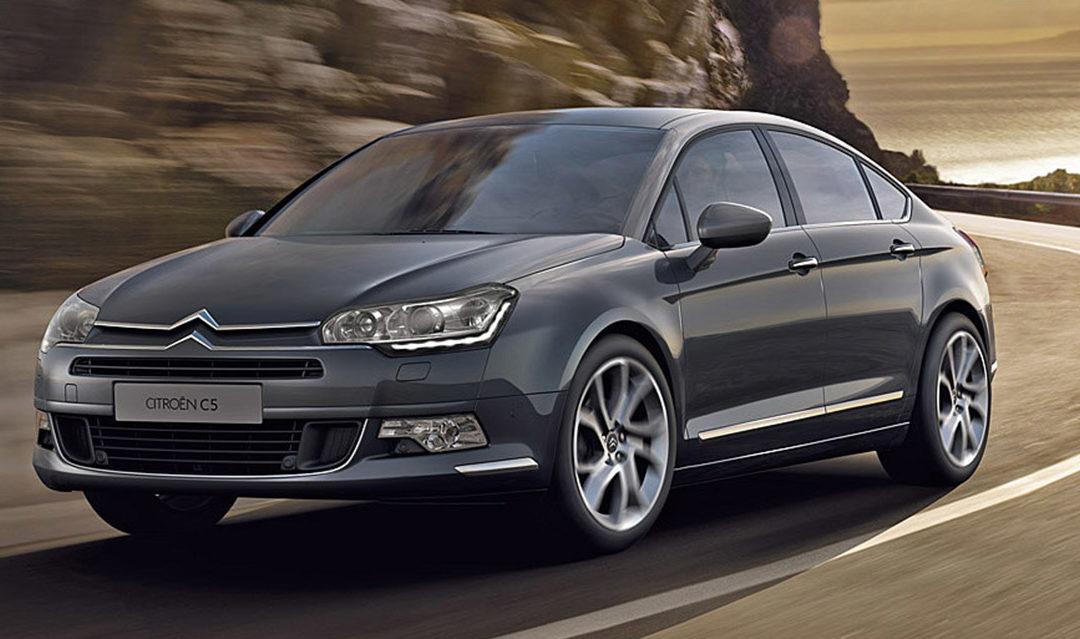 Ligera actualización de la gama C5 de Citroën