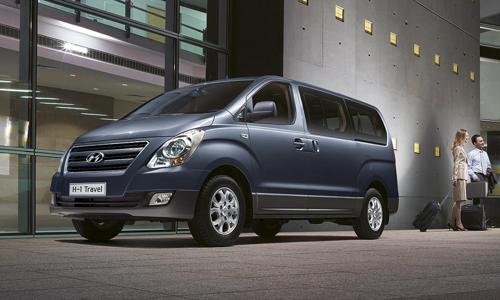 Hyundai H-1, 8 plazas por menos de 30 000 euros.