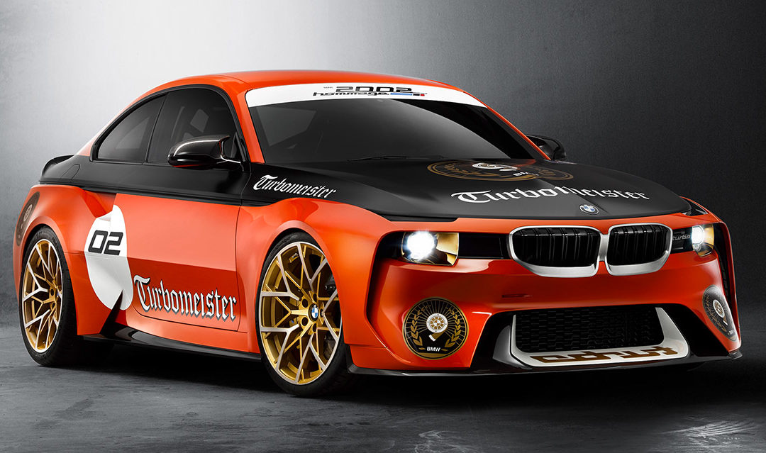 BMW 2002 Hommage, directo a Pebble Beach