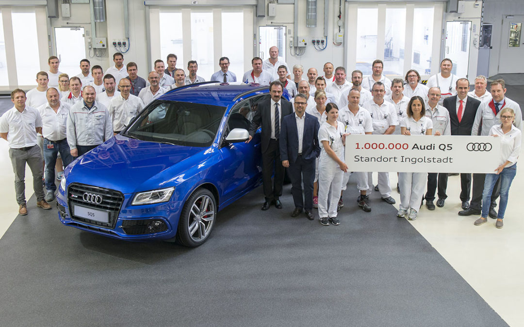 Un millón de Audi Q5 producidos en Ingolstadt