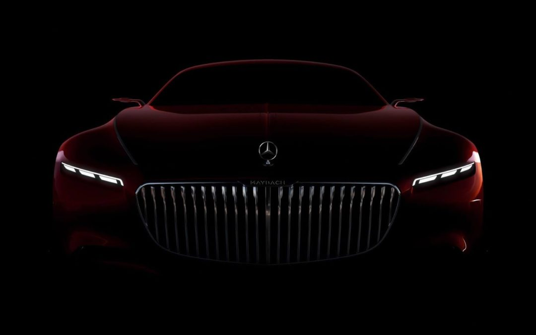Mercedes-Maybach Vision 6, lo veremos en Pebble Beach