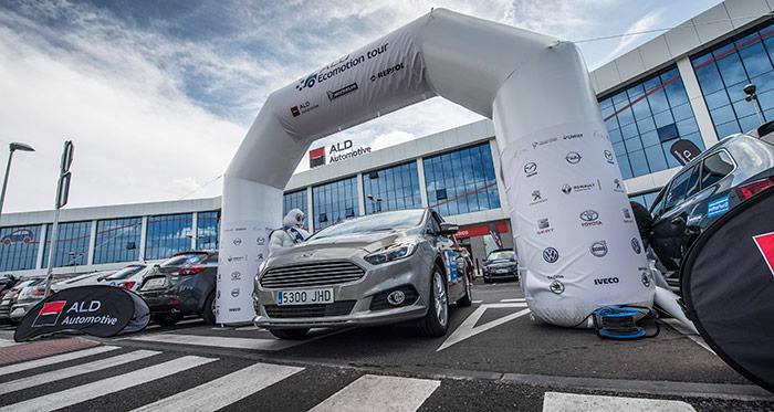 Prueba de consumo (219): Comparativa líderes del IX ALD EcoMotion Tour: Ford S-Max 2.0-TDCi 180 CV / Volvo XC-90 D-4 2.0D 190 CV / Opel Astra ST 1.6-T 200 CV