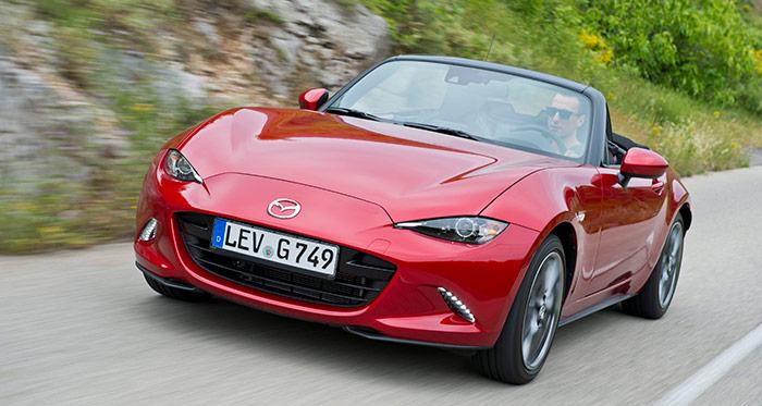 Prueba de consumo (220): Mazda MX-5 1.5-G 131 CV