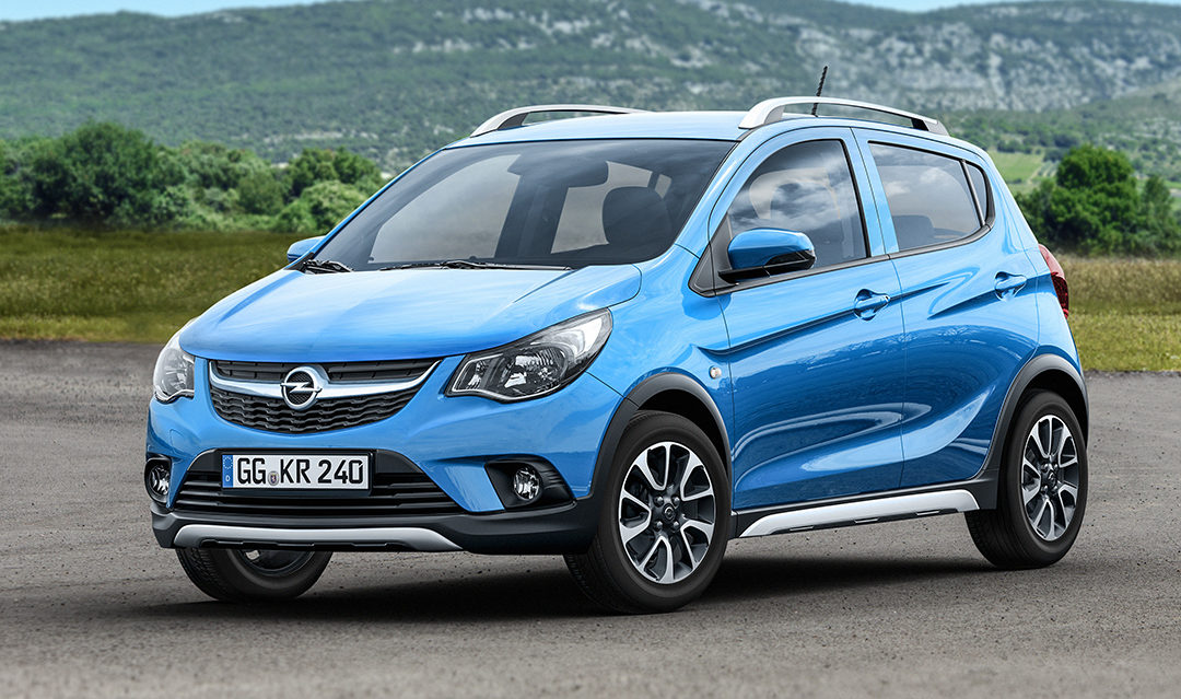 Salón de París: Opel Karl ROCKS
