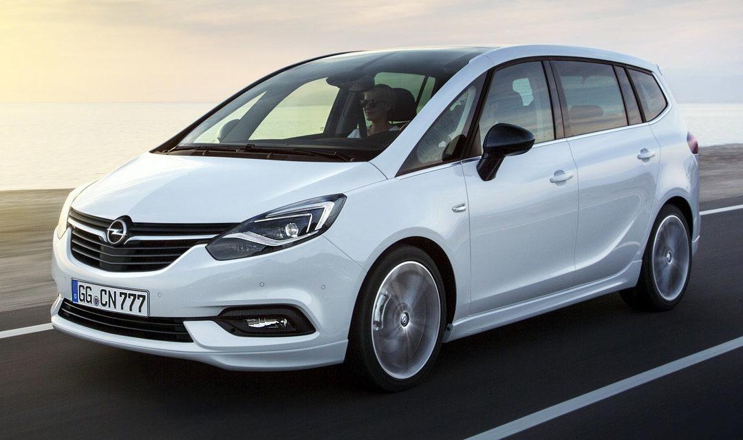 Ya a la venta la gama Opel Zafira, desde 17 930 €