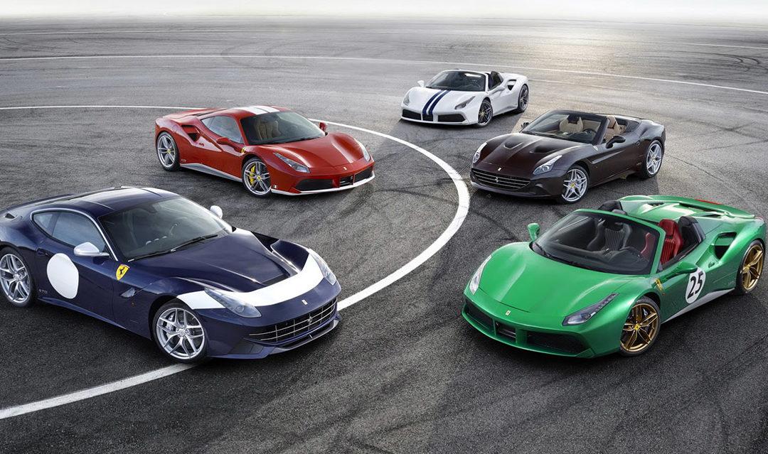 Salón de París: 70 aniversario de Ferrari