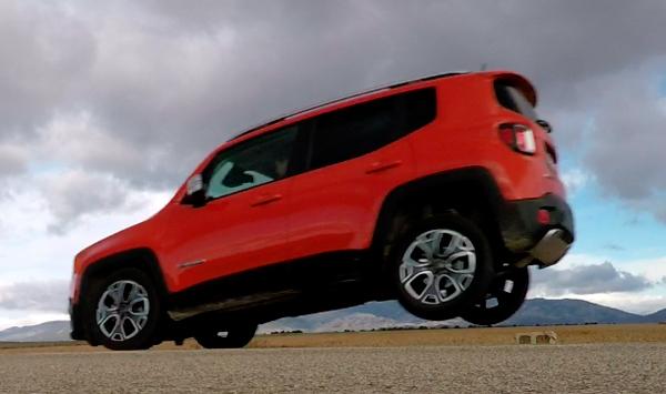 El Jeep Renegade y sus problemas de frenada