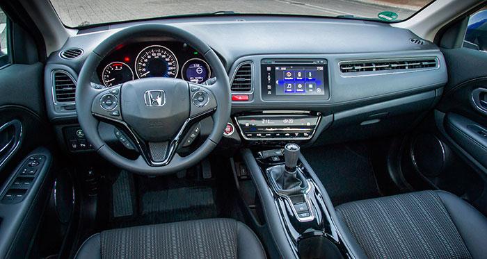 En el HR-V de pruebas dispusimos de una clásica caja de cambios manual de seis marchas, que sin duda es la más adecuada para las características de su motor (también existe con variador continuo).