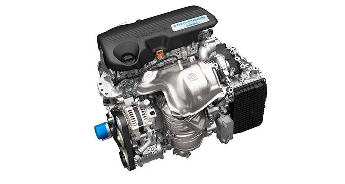 Tomando como referencia el tamaño del motor 1.6i-DTEC, la caja automática de nueve marchas del CR-V no resulta voluminosa, sino sumamente compacta.