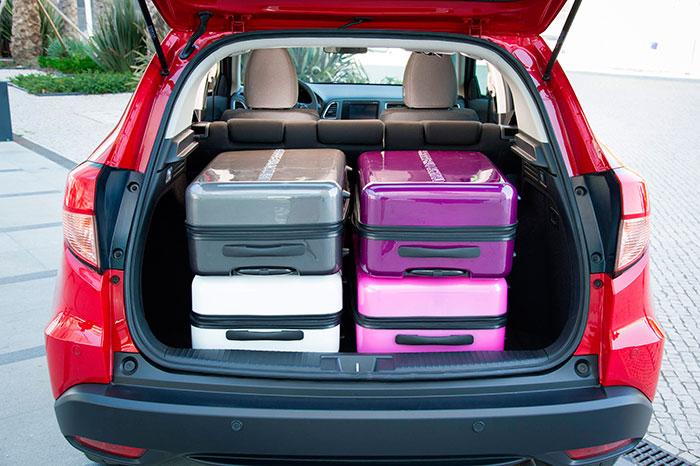 Con 470 litros de capacidad, el maletero del HR-V no está nada mal para su tamaño.