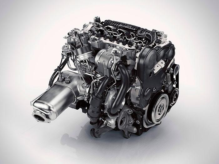 El 2.0 turbodiesel es, simultáneamente, potente, elástico, de respuesta instantánea y sumamente económico.