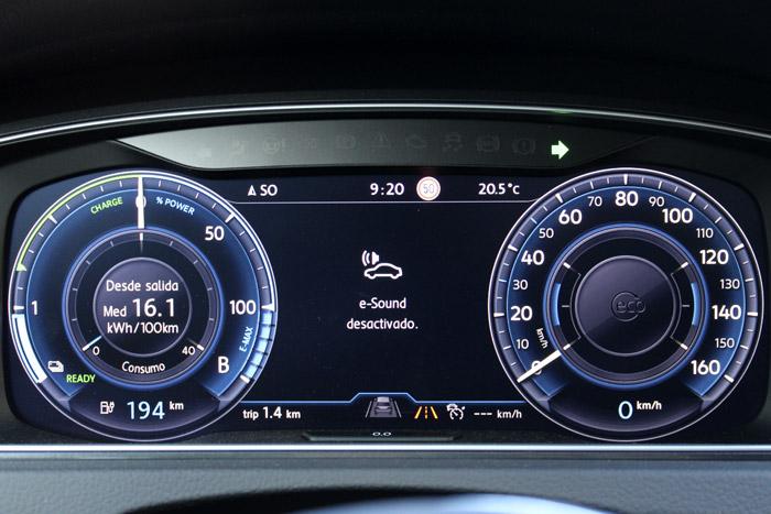 03 Volkswagen eGolf E-sound desactivado