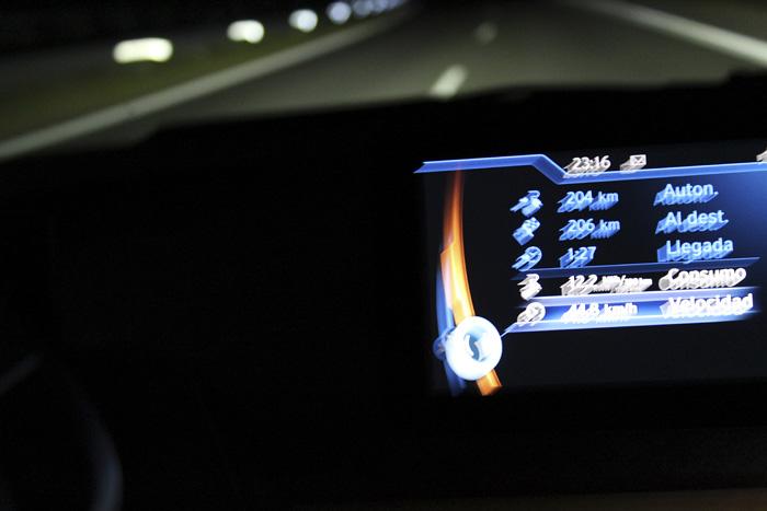 BMW i3 94 Ah Vitoria - Palencia. Ordenador