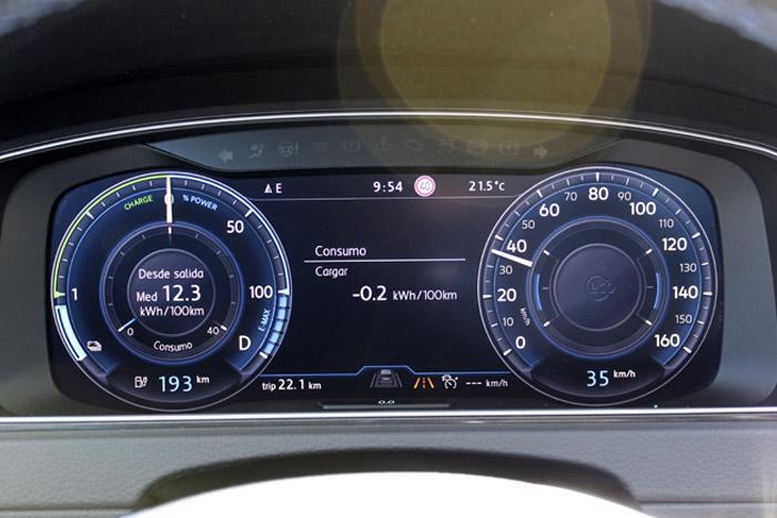 09 Volkswagen eGolf -Cargar 35km
