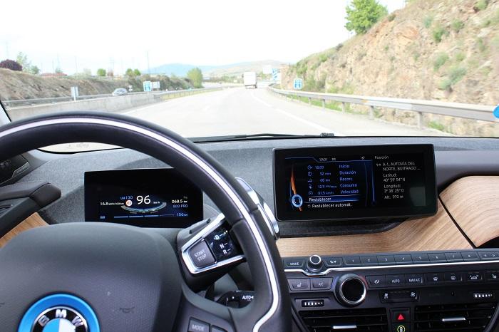 Fantástico viaje de Madrid a Lerma en un BMW i3