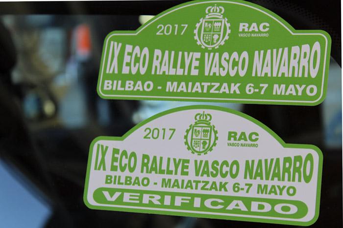 14-Bilbao Rallye- Etiqueta de Verificacion