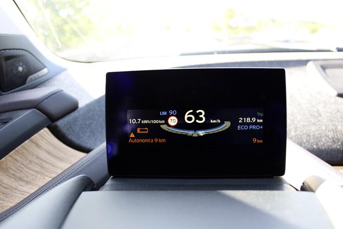 BMW i3 94 Ah Aviso de reserva. 9 km. Naranja