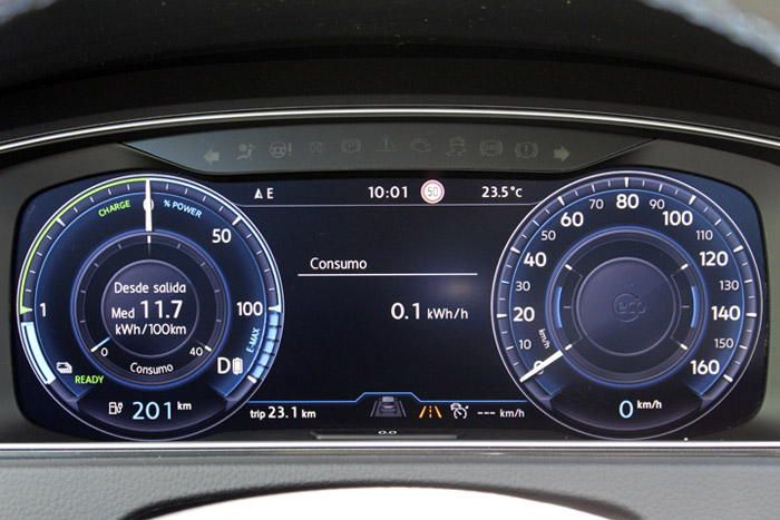 16 Volkswagen eGolf- Aircondition OFF