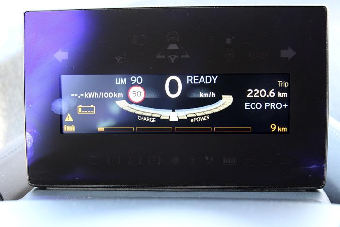 BMW i3 94 Ah. Precisión del cuentakilómetros