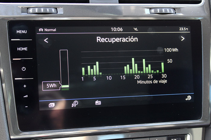 18 Volkswagen eGolf- Recuperacion