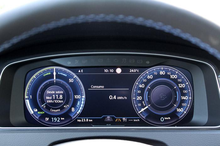19 Volkswagen eGolf- Consumo