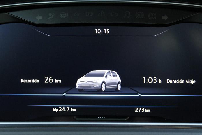 20 Volkswagen eGolf- Duracion Viaje