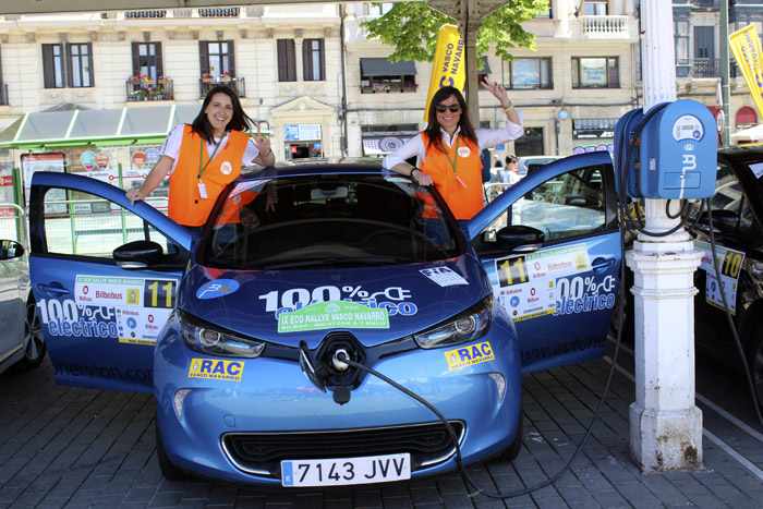 26-Bilbao Rallye-Coche Azul
