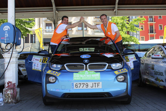 IX Eco Rallye Vasco Navarro. Primera etapa. Análisis de tiempos.