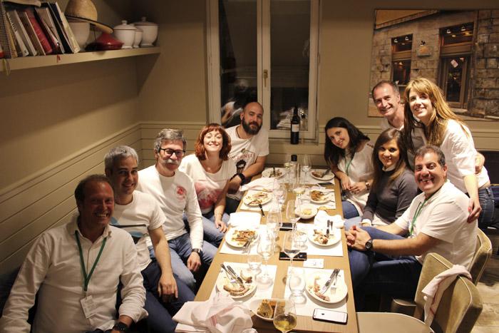 34-Bilbao Rallye-Equipos en la Cena
