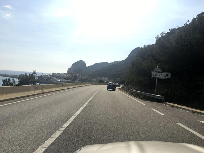 01-500km en coche descapotable