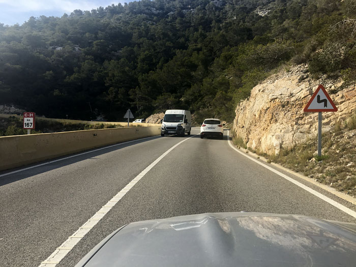03-500km en coche descapotable