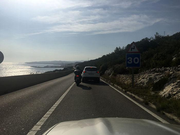 04-500km en coche descapotable