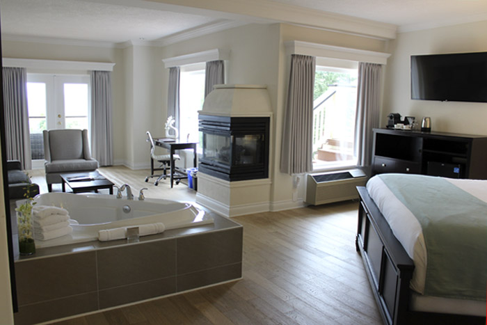 Villa Eyrie Resort Vancouver. Habitación 311.