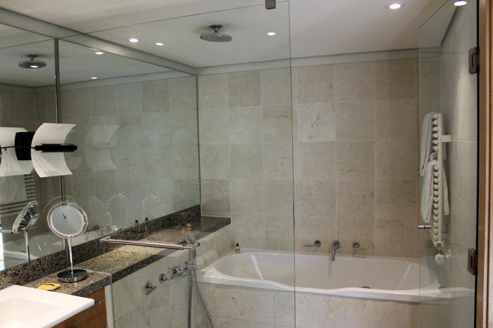 De hoteles, duchas y limpieza