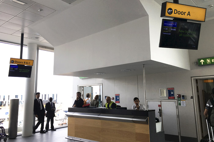 08-Airbus 380- Boarding Counter