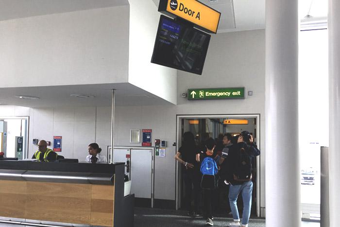 09-Airbus 380- Boarding Entrance