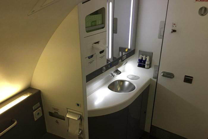 14-Airbus 380- Bathroom Sink