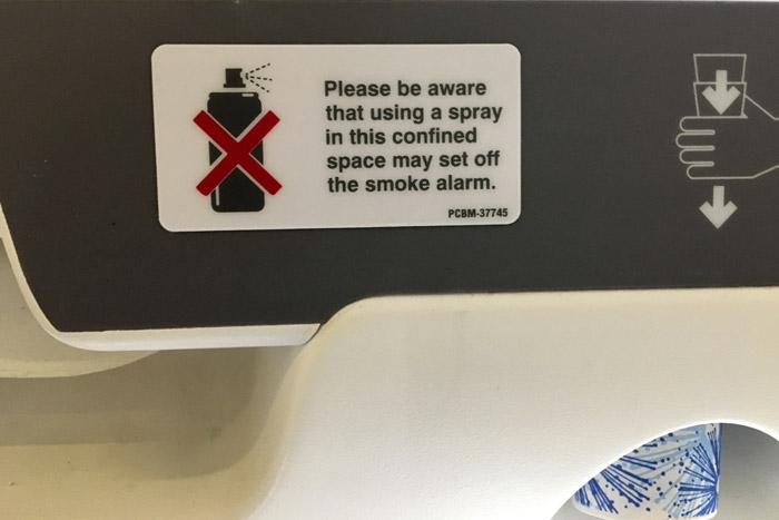 35- Airbus 308 -Bathroom Reminders