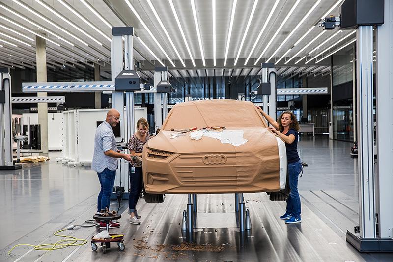 Diseño del Audi A7 Sportback. De la imaginación a una azotea de Ingolstadt