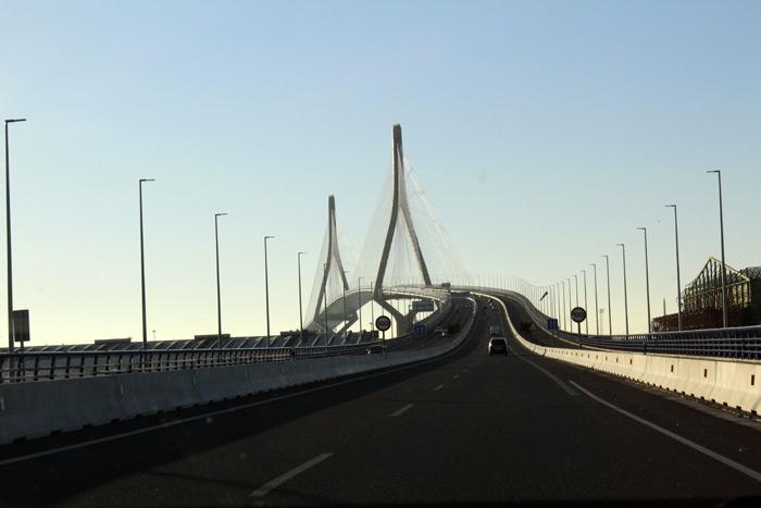 Puente de la Constitución 1812. Cádiz.