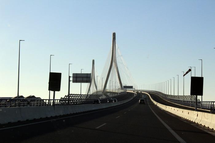 Cádiz. Puente atirantado