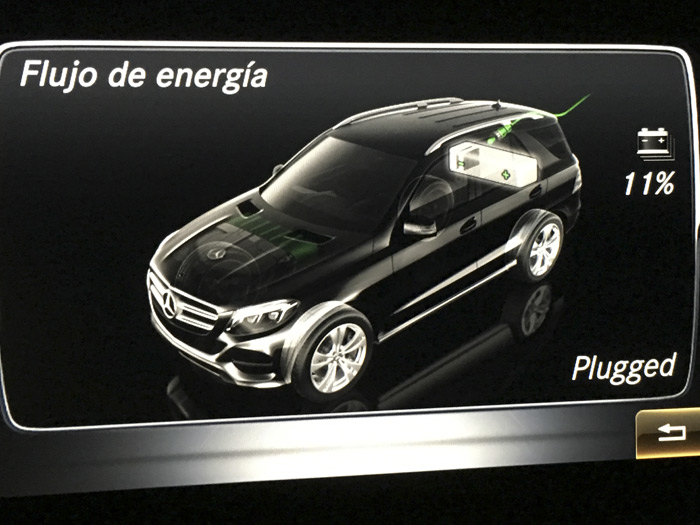 Mercedes-Benz GLE 500 e 4MATIC. Consumo, autonomía en eléctrico y posibilidades de carga