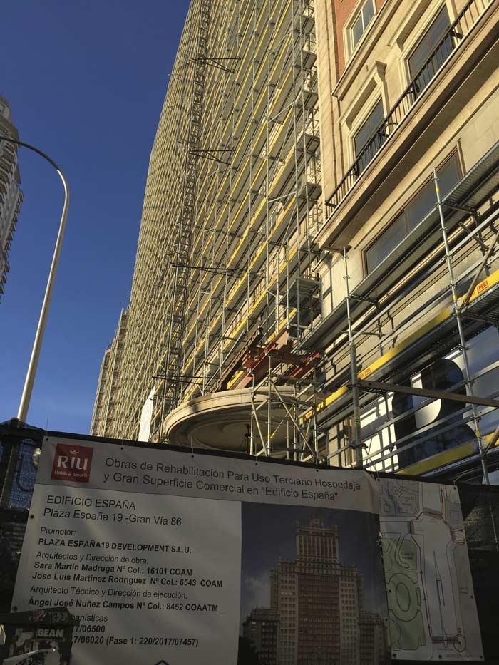 Remodelación del Edificio España