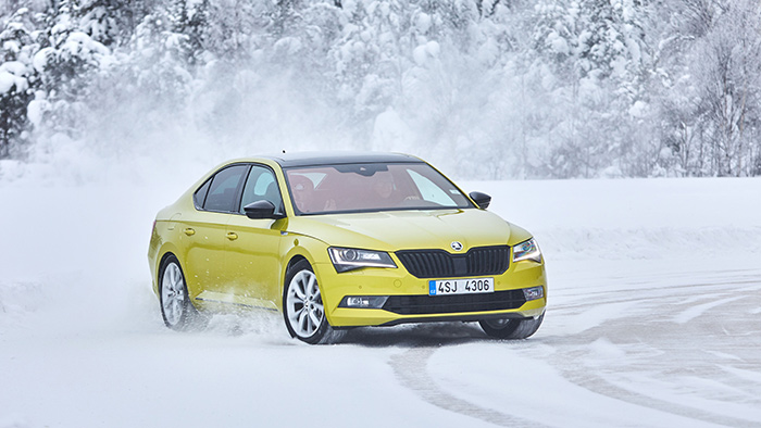 Škoda 4×4 Winter Experience 2018