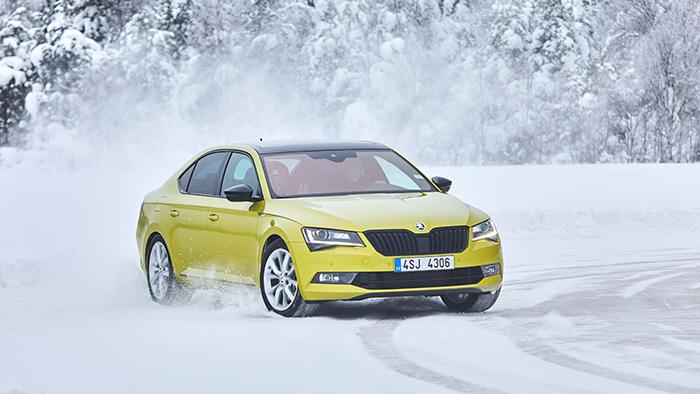 Škoda 4×4 Winter Experience 2018
