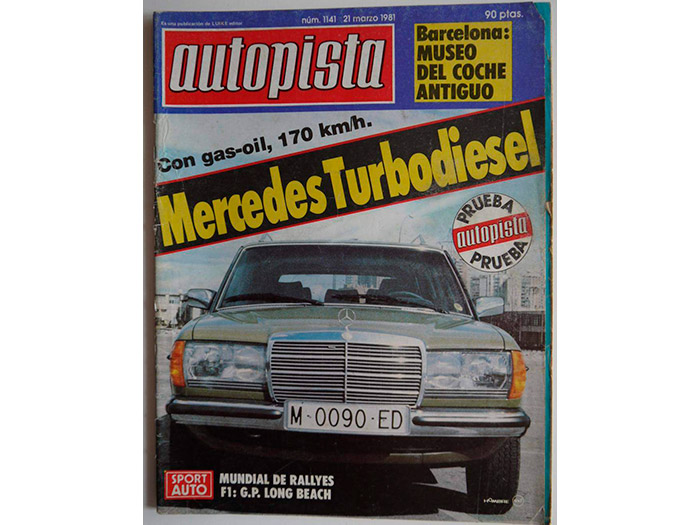 Prueba interesante clásica (87): Mercedes 300-TD (break) Turbodiesel (W-123) a/m 1981