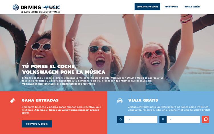 Volkswagen España crea un Tinder musical para los viajes. ¡Bravo!