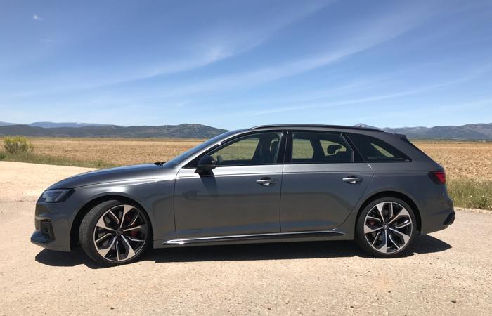 Sufrir un pinchazo con un neumático Continental ContiSeal del Audi RS 4… y no poder repararlo