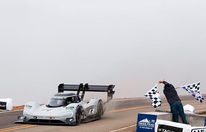 VW en Pike's Peak: récord tecnológico